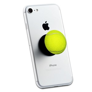 Tennis Ball 2 Sticker Set for Pop Grip Stent for Phones and Tablets (Stickers Only)