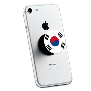 South Korean Flag 2 Sticker Set for Pop Grip Stent for Phones and Tablets (Stickers Only)