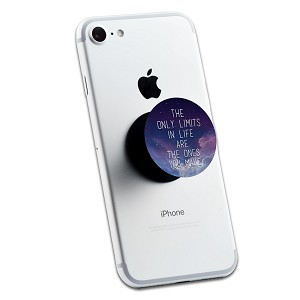 The Only Limits In Life 2 Sticker Set for Pop Grip Stent for Phones and Tablets (Stickers Only)