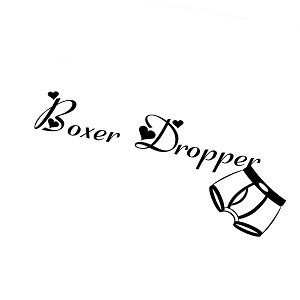 JDM Girl Boxer Dropper Funny Vinyl Sticker Car Decal