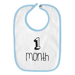 1 Month Old Infant Baby Bib