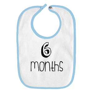 6 Months Old Infant Baby Bib