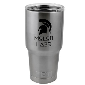 Come and Take Them Molon Labe Patriot Vinyl Sticker Decal for Yeti Mug Cup Thermos Pint Glass (DECAL ONLY, NO CUP)