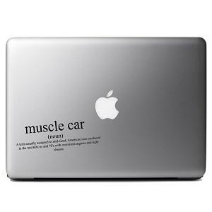 Funny Muscle Car Definition Jdm Vinyl Sticker Laptop Decal