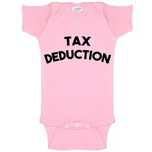 Tax Deduction Funny Baby Bodysuit Infant
