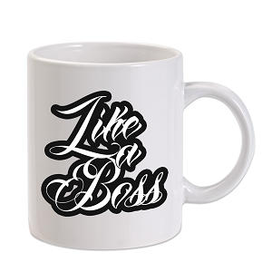 Like A Boss 11 oz. Novelty Coffee Mug