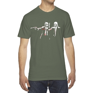 Storm Suit Trooper Boba Parody Fiction Characters Men's Crew Neck Cotton T-Shirt