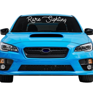 Rare Sighting Car Windshield Banner Decal Sticker  - 6