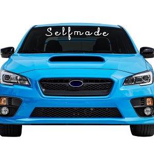 Selfmade Car Windshield Banner Decal Sticker  - 6