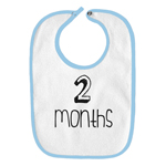 2 Months Old Infant Baby Bib