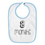 8 Months Old Infant Baby Bib