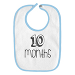 10 Months Old Infant Baby Bib