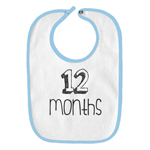12 Months Old Infant Baby Bib