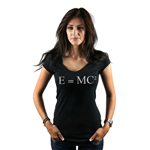 E=MC2 Einstein Math Equation Women's T-Shirt