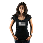 13 Colonies Vintage American Flag Women's T-Shirt