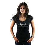 Peace Through Superior Firepower Patriotic Women's T-Shirt