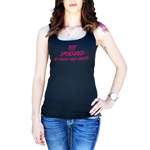 JDM NOT Sponsored By Mommy and Daddy Women's Tank Top