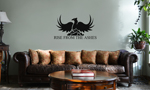 Rise From the Ashes Phoenix Vinyl Wall Mural Decal Home Decor Sticker