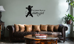 Everyone Loves a Slutty Girl Funny Vinyl Wall Mural Decal Home Decor Sticker